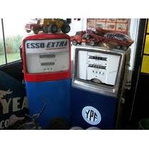Antiguos Surtidores Esso - Ypf (par) Coleccion Vintage