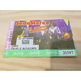 Soda Stereo Ticket Entrada El Ultimo Concierto 1997 River