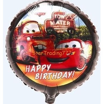 Globos Metalizados Cumpleaños Cars Mickey Minnie Toy Story