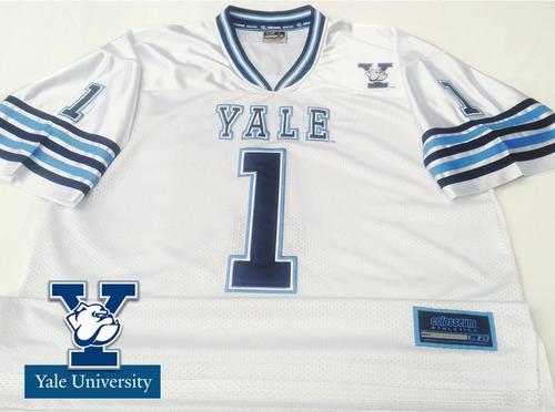 80819f5d8d3dc Camiseta Futbol Americano Universidad Yale Bulldogs Eeuu Xxl