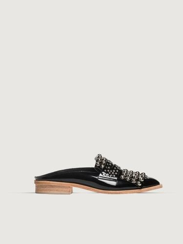 4c9e04108d7 Mule Magda Prune Off White Zapato Mujer Moda 2019