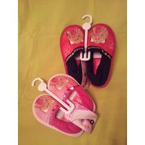 Pantuflas Barbie- Cerradas- Con Licencia-