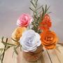 Flores De Papel Para Usar Como Centros De Mesa O Souvenirs