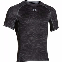 Remera Compresión Under Armour Fitness Running Hombre