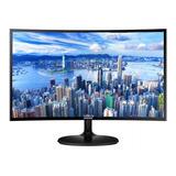 Monitor Samsung C24f390fhl Led 23.5  Negro 110v/220v (bivolt)
