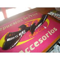 Cubre Manos Circuit Sx Enduro Negros En Mtc Motos