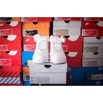 Zapatillas Nike Air Force 1 Mid Blanca Talle 38.5 Originales