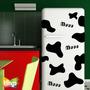 Vinilos Decorativos- Ideal Para Heladeras, Manchas De Vaca