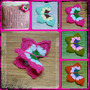 Mariposa Aplique Crochet. Souvenirs Deco