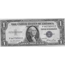 Billete Estados Unidos 1 Dolar Año 1935 Sin Circular Plata