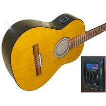 Guitarra Clasica Electrocriolla Ecualizador 4b + Afinador