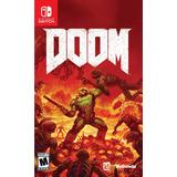 Doom Juego Físico Nintendo Switch Original Sellado Gamestore