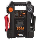Arrancador Auto Bateria Inflador 12v Black Decker Usb 500amp
