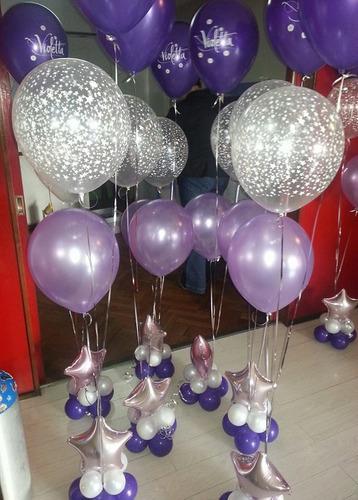 Globos centros de mesa bouquet globos a ars 12 en - Centros de mesa con globos ...