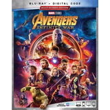 Avengers Infinity War Blu-ray Nuevo Original Import En Stock