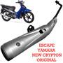 Escape Yamaha New Crypton 110 Original En Fas Motos