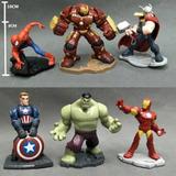 Figuras Muñecos Avengers Infinity Set X6 Sin Chip