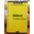 Diderot - Pensamiento Filosofico - Ed. Globus - Tapa Dura