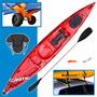 Kayak Angler Atlantikayak Pesca Travesía Portaequipaje Carro