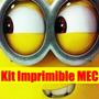 Kit Imprimible Minions Tarjeta Invitacion Candy 2015 2x1
