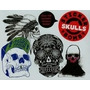 Stickerbomb Skulls - Laurence King