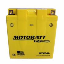 Bateria Motobat Gel Mtx5al 12n53n Ybr 125 Smash Y Otras 110