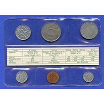 Suecia 5, 10, 25, 50 Ore Y 1, 5 Kronor 1976 * Mint *