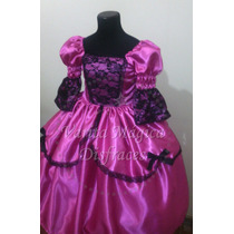 Disfraz Vestido Dama Antigua