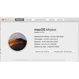 Macbook Pro Retina 15 Core I7 2.2 Ghz 16gb Ram 256ssd