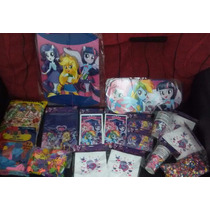 Combo Cotillon My Little Pony (equestria Girls) Completo!!!