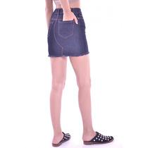 02c9611fb Pollera Mini De Jean Moda Anticipo Primavera Verano Pack X3 en venta ...