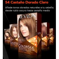 Revlon Colorsilk 54 Castaño Claro Dorado- Beauty Express
