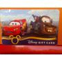 Disney Parks Cars Tarjetas Coleccionables!!