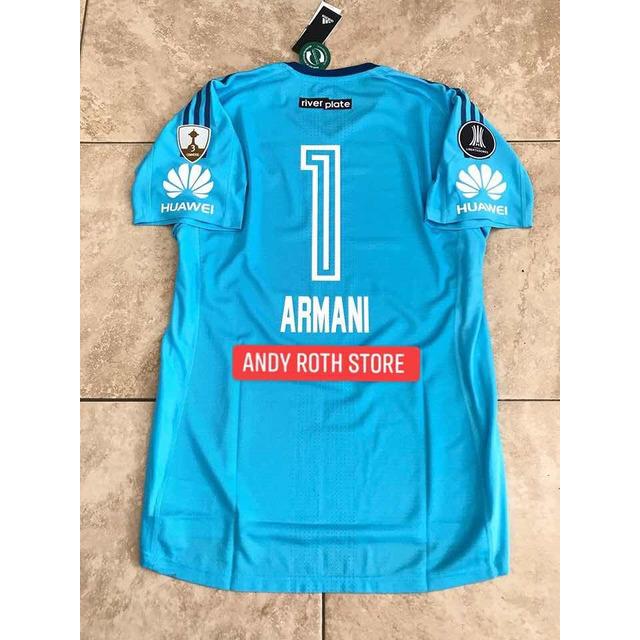 Camiseta Arquero River Plate 2018 Armani  1de865495d1bc