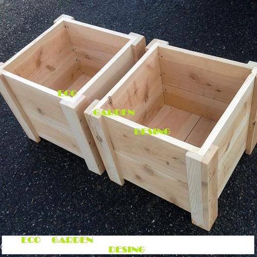 Macetas de madera macetas de madera macetas de madera - Maceteros de madera ...
