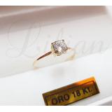 Anillo Cintillo Oro 18k Dama Casamiento Compromiso