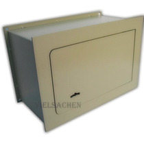 Caja Fuerte De Seguridad Para Amurar En Pared 30x20x15cm