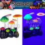Adorno Corales / Hongos Fluorescentes De Resina Y Silicona
