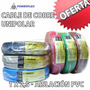 Cable Electrico Unipolar 1 X 2.5 Mm Bajo Normas X 100mts Pvc