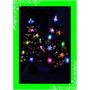 Arbol De Navidad De Fibra Optica Y Leds 90 Cmts Fotos Reales