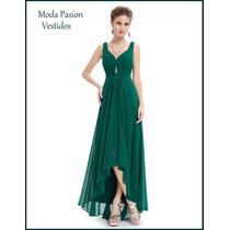 Vestido Corto Largo Talle Grande Importado Moda Pasion