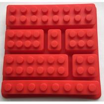 Molde Silicona Lego Rasti Varios Tamaños Fondant Reposteria