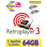 Consola Retro Retroplayer 3 Con 2 Joystick - Es La Mejor