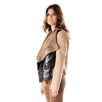 Campera Simil Cuero Bifaz Interno Piel, Activity