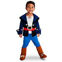 Disfraz Jacke Piratas Del Nunca Jamas Disney Store