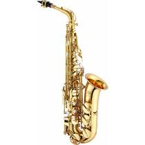 Saxofon Alto Eb Llave F# Jupiter Jas500 + Estuche
