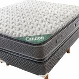 Sommier Y Colchon Cannon® Doral Pillow 140x190 + 2 Almohadas