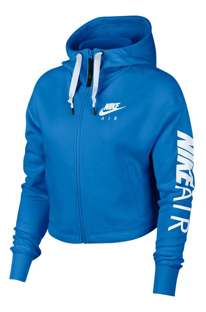 Campera Nike Mujer Air Hoodie Fz Fleece 7397