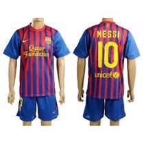 Set Camiseta Short Futbol Talle Para Chicos 26 F C B Filsur