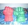 Puños O Manos Hulk, El Hombre Araña Buenisimos.